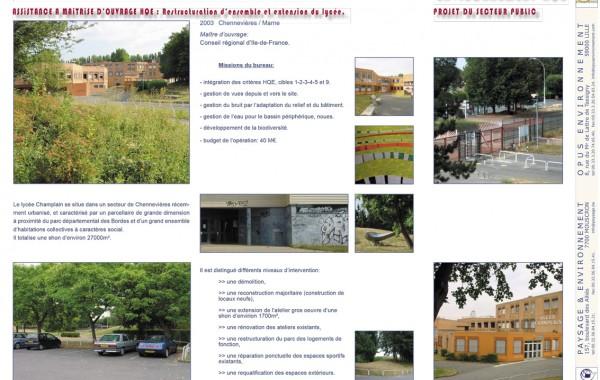 AMO Lycée Champlain